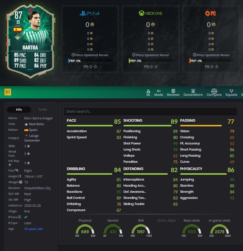 FIFA-20-FUT-Marc-Bartra-Shapeshifters-stats