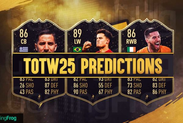 FIFA 20 FUT TOTW 25 Predictions by Gisalegend