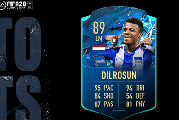 FIFA 20 FUT Dilrosun TOTSSF Moments Objective Requirements