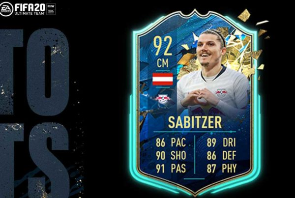 FIFA 20 FUT Marcel Sabitzer TOTSSF Objective Requirements