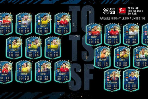 FIFA 20 FUT TOTSSF Bundesliga Announced