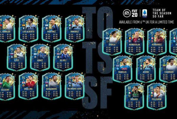 FIFA 20 Serie A TOTSSF Announced
