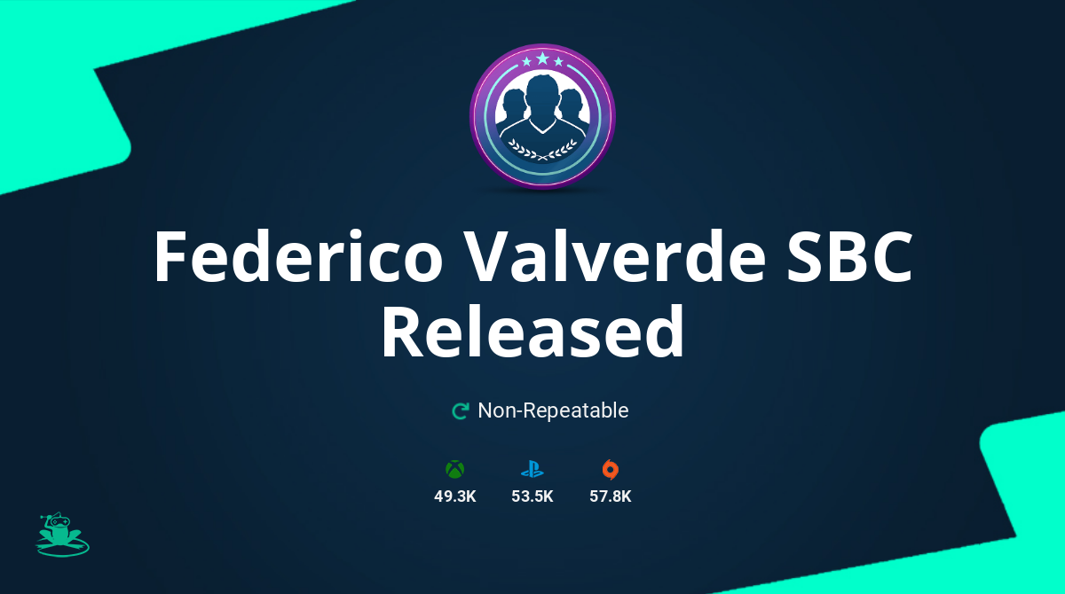 FIFA 20 Federico Valverde SBC Requirements & Rewards