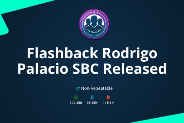FIFA 20 Flashback Rodrigo Palacio SBC Requirements & Rewards