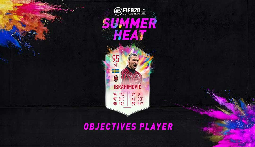 Zlatan Ibrahimovic Summer Heat Objective Requirements