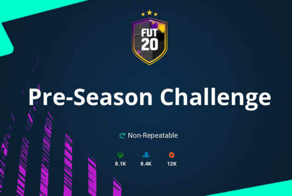 FIFA 20 Pre-Season Challenge SBC Requirements & Rewards