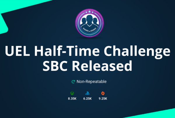 FIFA 20 UEL Half-Time Challenge SBC Requirements & Rewards