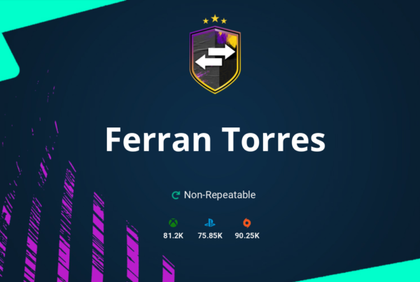 FIFA 20 Ferran Torres SBC Requirements & Rewards