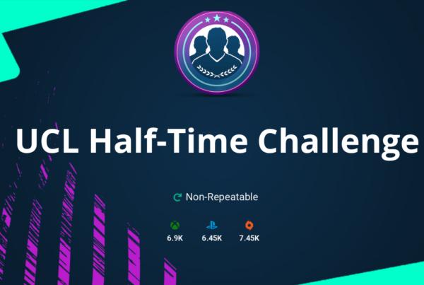 FIFA 20 UCL Half-Time Challenge SBC Requirements & Rewards