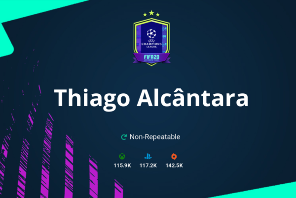 FIFA 20 Thiago Alcântara SBC Requirements & Rewards