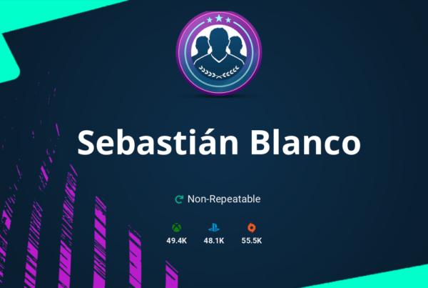 FIFA 20 Sebastián Blanco SBC Requirements & Rewards