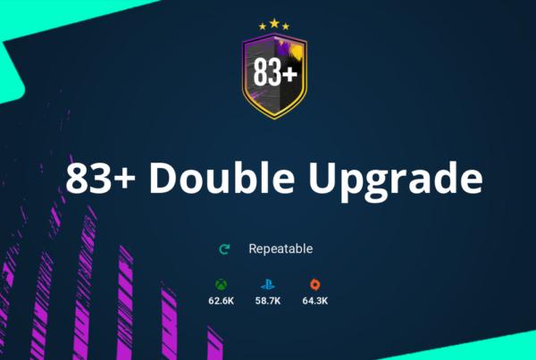 FIFA 20 83+ Double Upgrade SBC Requirements & Rewards