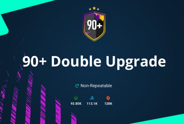 FIFA 20 90+ Double Upgrade SBC Requirements & Rewards