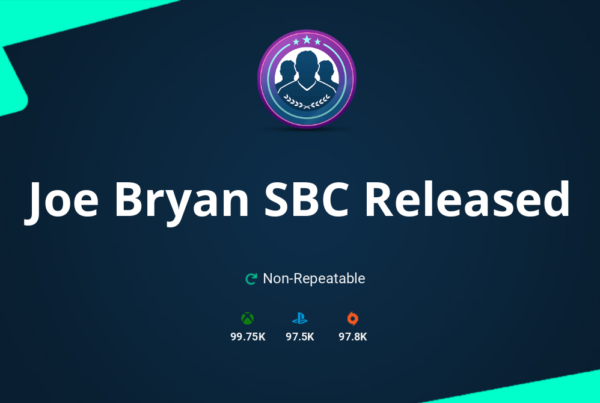 FIFA 20 Joe Bryan SBC Requirements & Rewards