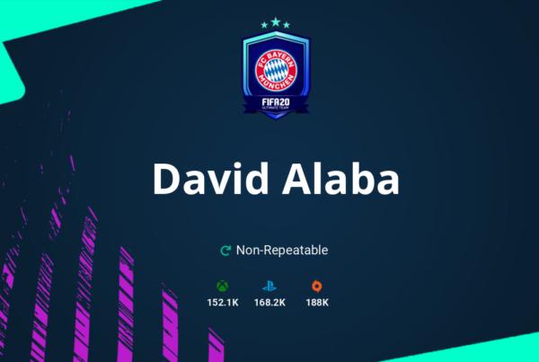 FIFA 20 David Alaba SBC Requirements & Rewards