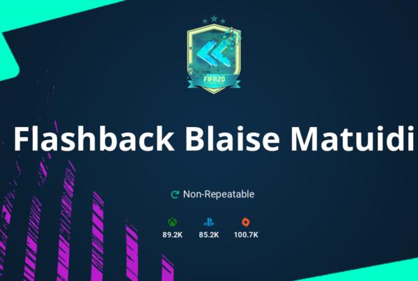 FIFA 20 Flashback Blaise Matuidi SBC Requirements & Rewards