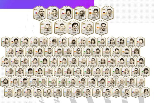 Complete List of Icons in FIFA 21 Ultimate Team