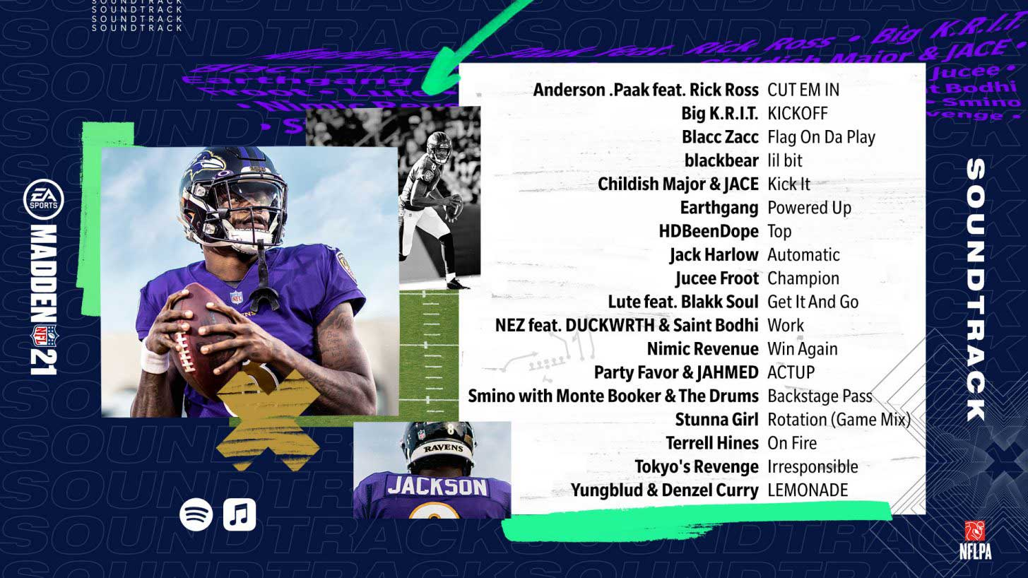 Madden 21 Soundtrack Released