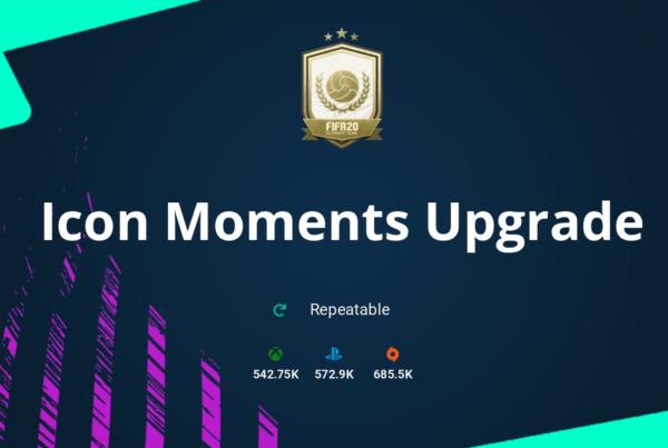 FIFA 20 Icon Moments Upgrade SBC Requirements & Rewards