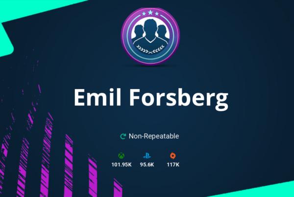 FIFA 20 Emil Forsberg SBC Requirements & Rewards