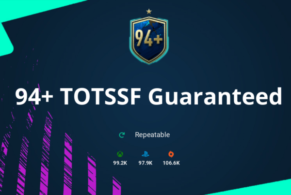 FIFA 20 94+ TOTSSF Guaranteed SBC Requirements & Rewards
