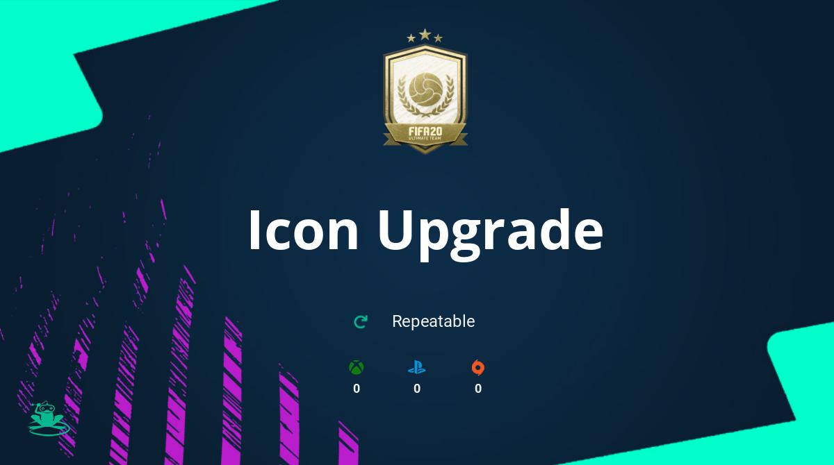 FIFA 20 Icon Upgrade SBC Requirements & Rewards