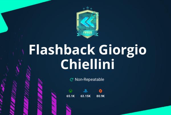 FIFA 20 Flashback Giorgio Chiellini SBC Requirements & Rewards