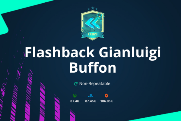FIFA 20 Flashback Gianluigi Buffon SBC Requirements & Rewards