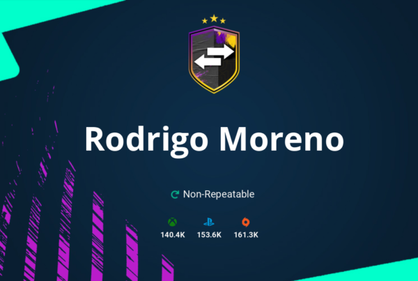 FIFA 20 Rodrigo Moreno SBC Requirements & Rewards
