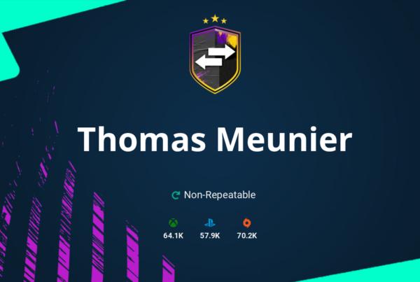 FIFA 20 Thomas Meunier SBC Requirements & Rewards