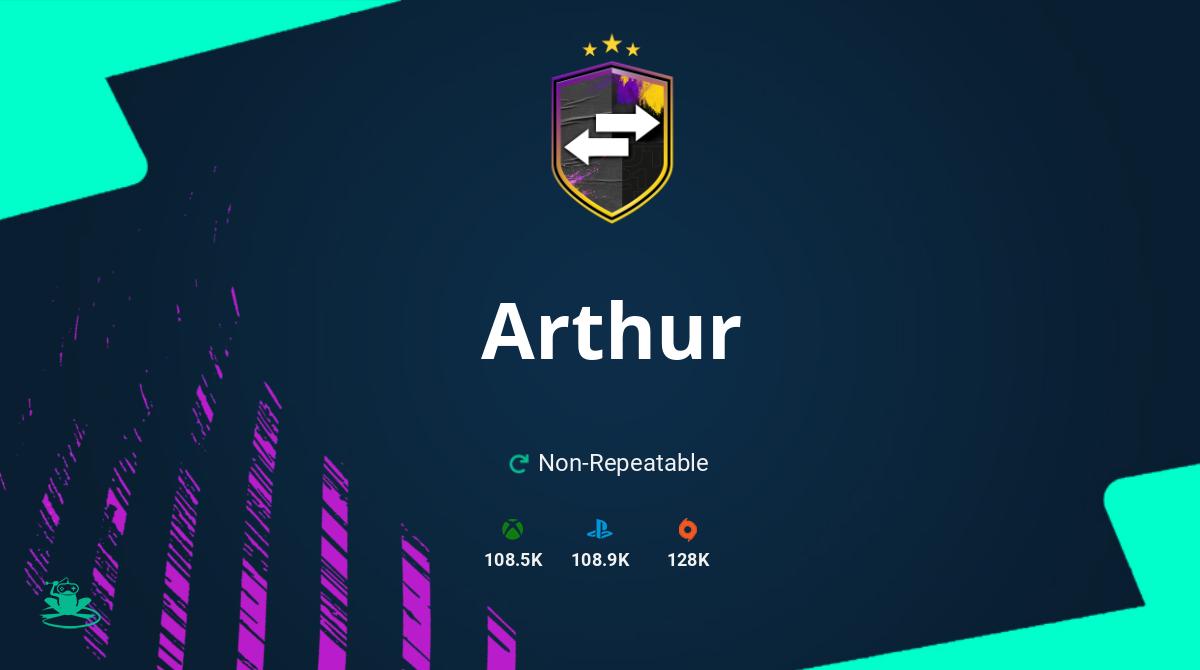FIFA 20 Arthur SBC Requirements & Rewards