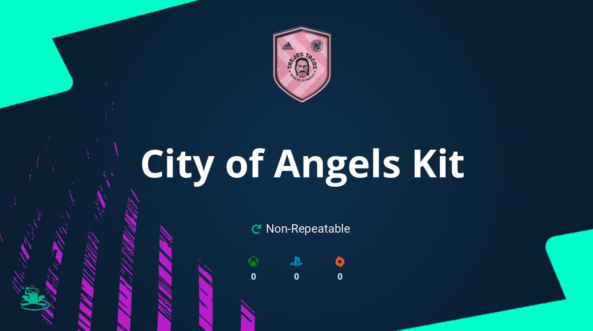 FIFA 21 City of Angels Kit SBC Requirements & Rewards