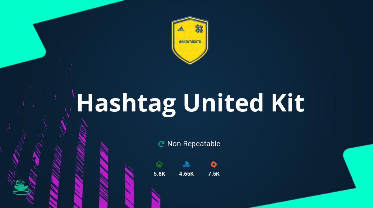 FIFA 21 Hashtag United Kit SBC Requirements & Rewards