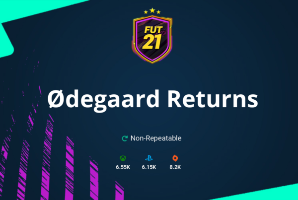 FIFA 21 Ødegaard Returns SBC Requirements & Rewards
