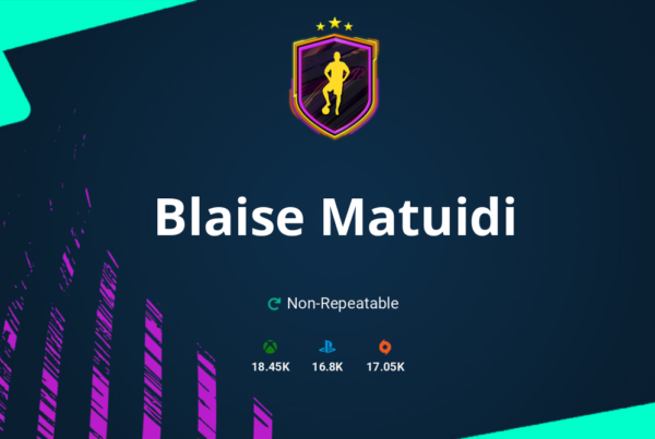 FIFA 21 Blaise Matuidi SBC Requirements & Rewards