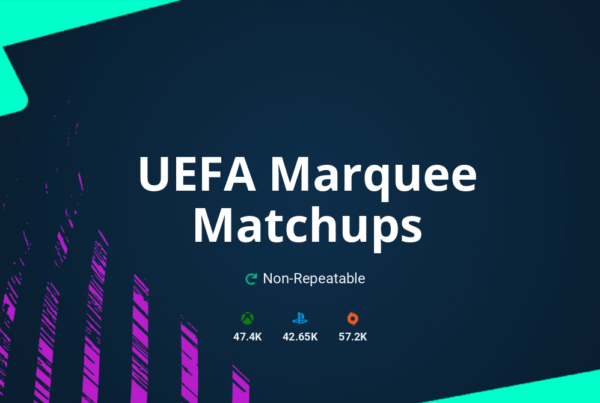 FIFA 21 UEFA Marquee Matchups SBC Requirements & Rewards