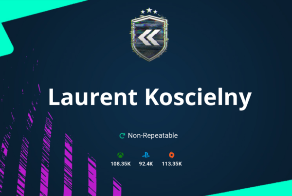 FIFA 21 Laurent Koscielny SBC Requirements & Rewards