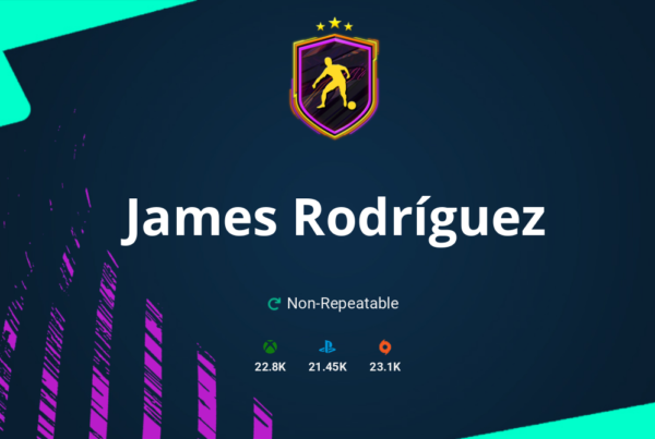 FIFA 21 James Rodríguez SBC Requirements & Rewards