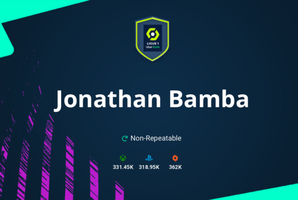 FIFA 21 Jonathan Bamba SBC Requirements & Rewards