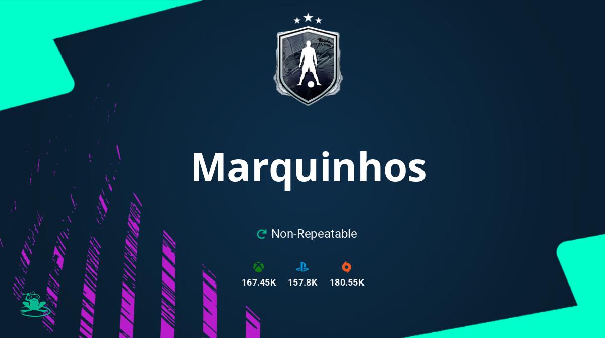 FIFA 21 Marquinhos SBC Requirements & Rewards
