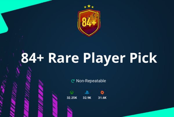 FIFA 21 84+ Rare Player Pick SBC Requirements & Rewards