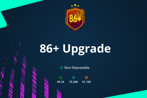 FIFA 21 86+ Upgrade SBC Requirements & Rewards