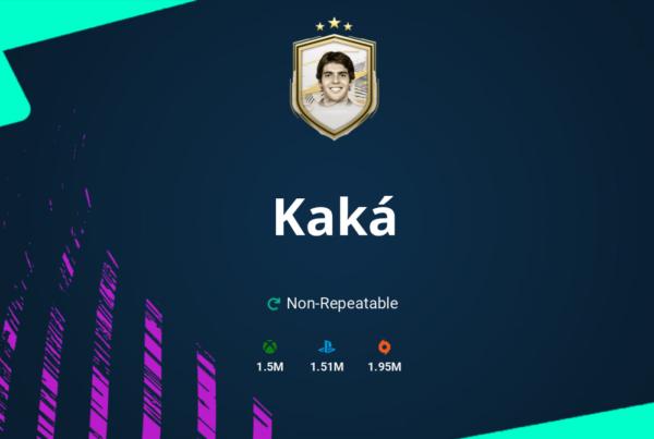 FIFA 21 Kaká SBC Requirements & Rewards