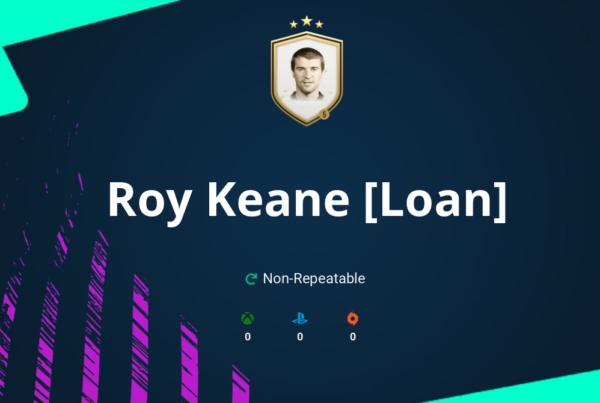 FIFA 21 Roy Keane [Loan] SBC Requirements & Rewards
