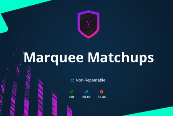 FIFA 21 Marquee Matchups SBC Requirements & Rewards