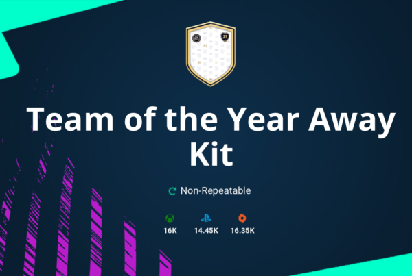 FIFA 21 Team of the Year Away Kit SBC Requirements & Rewards