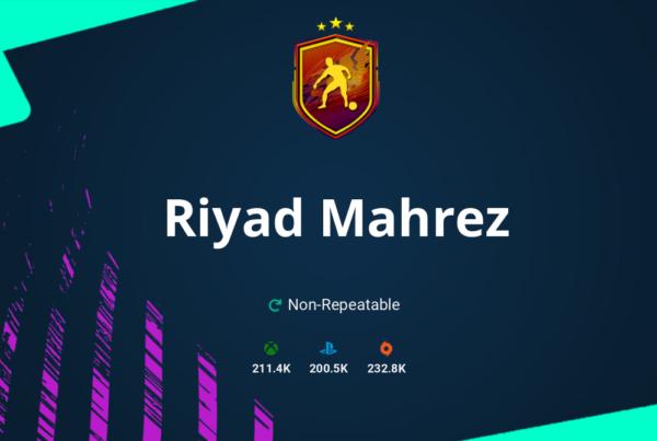 FIFA 21 Riyad Mahrez SBC Requirements & Rewards