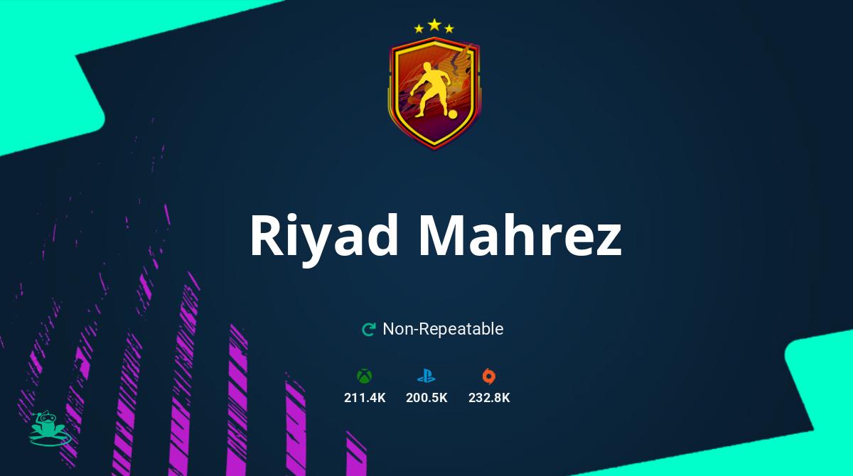 FIFA 21 Riyad Mahrez SBC Requirements and Rewards