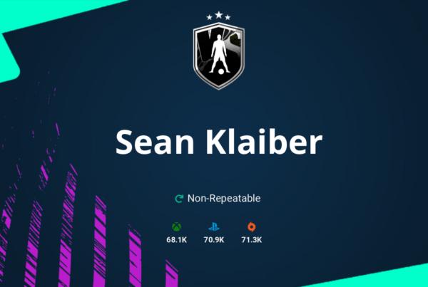 FIFA 21 Sean Klaiber SBC Requirements & Rewards