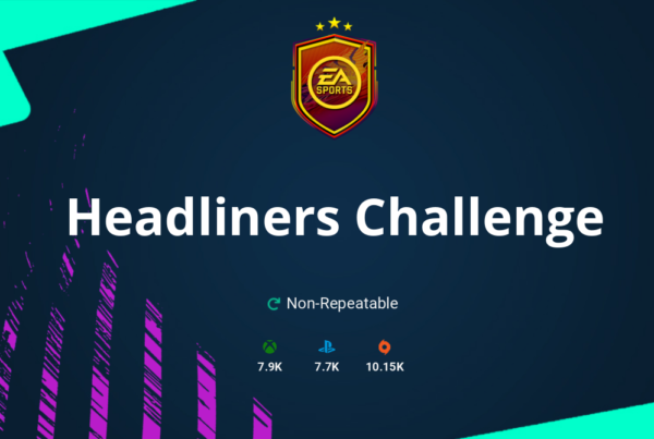 FIFA 21 Headliners Challenge SBC Requirements & Rewards